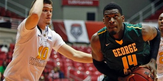 George Mason gets blown out by West Virginia