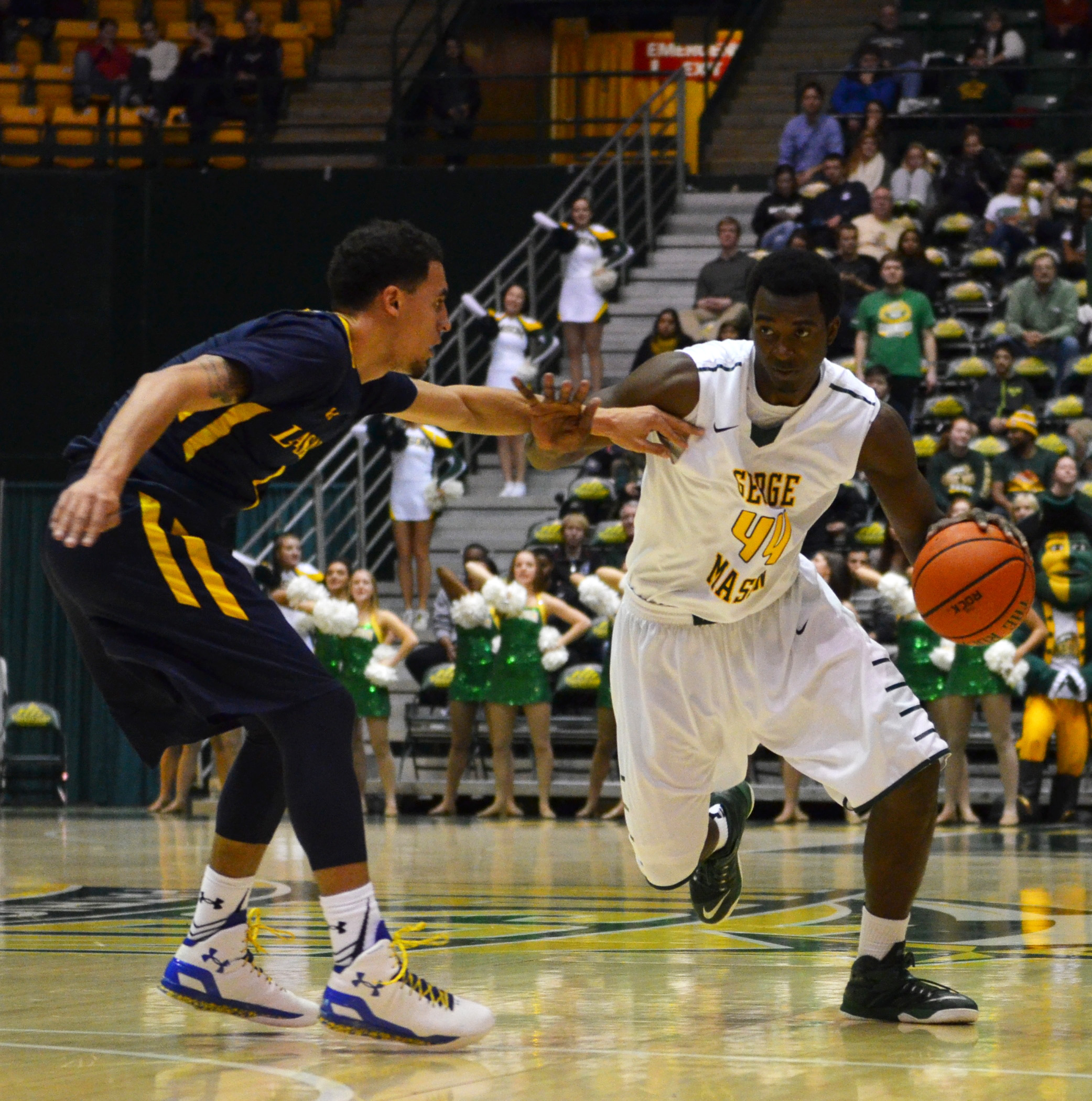 George Mason Opens Conference Play With Win Over La Salle