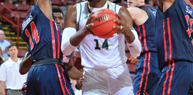 George Mason knocks off Ole Miss in first round of Charleston Classic