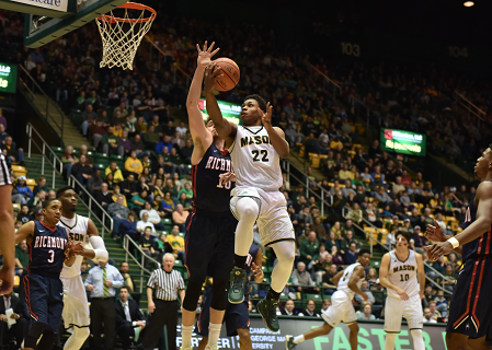 George Mason dominates Richmond in regular season finale